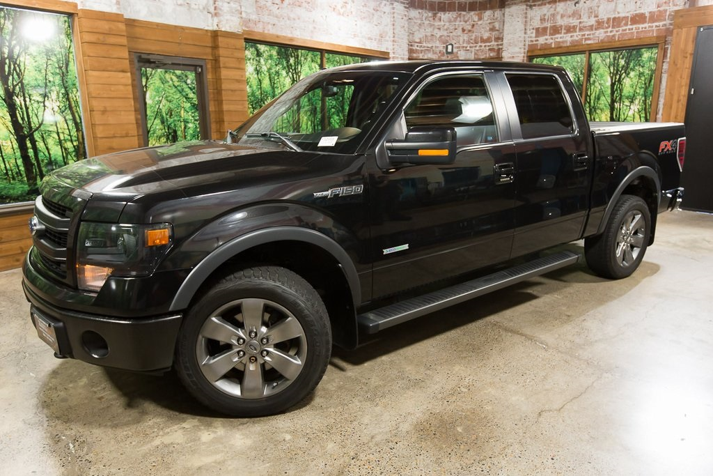 Pre-Owned 2013 Ford F-150 FX4 Luxury Crew Cab, Navigation, Sunroof, 20in Wheels