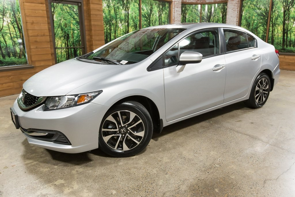 Pre-Owned 2015 Honda Civic EX 1-OWNER, CLEAN CARFAX