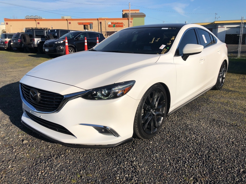 Pre-Owned 2016 Mazda6 i Grand Touring with Tech Pkg, Navi, Sunroof, Adaptive Cruise