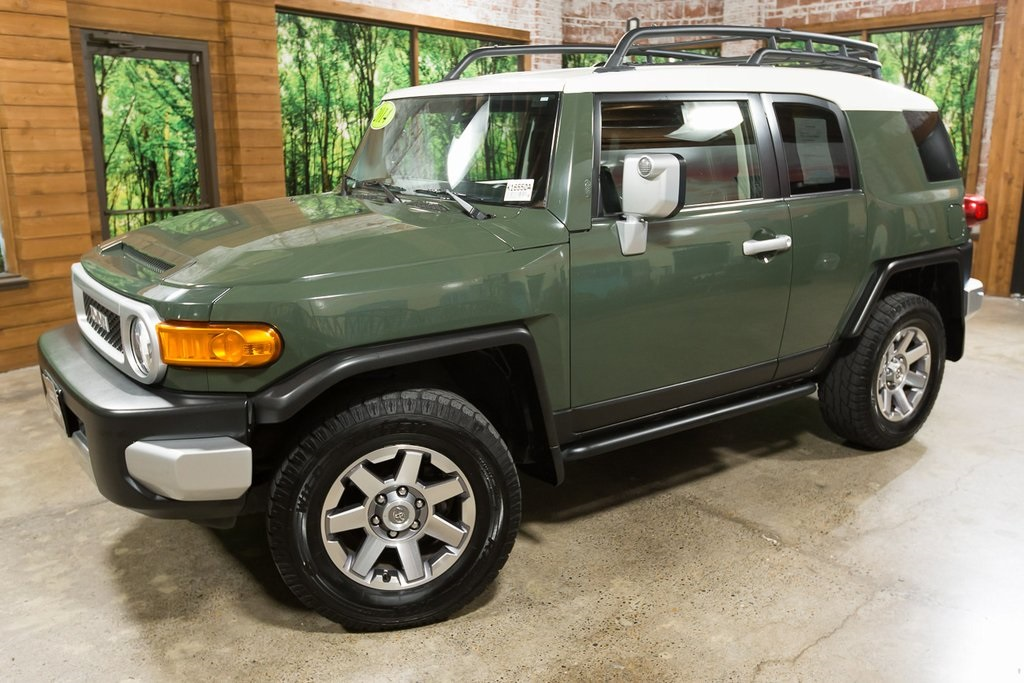 Used Fj Cruiser >> Used 2014 Toyota Fj Cruiser Convenience Package In Portland K16550a