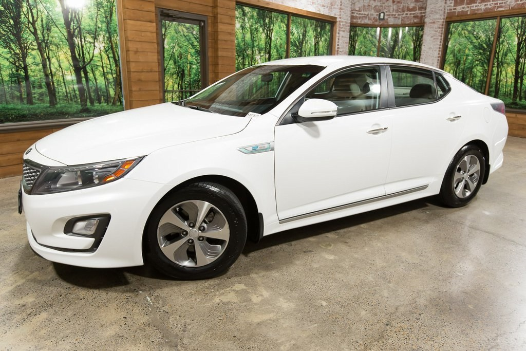 Certified Pre-Owned 2015 Kia Optima Hybrid Base CERTIFIED with Convenience Package