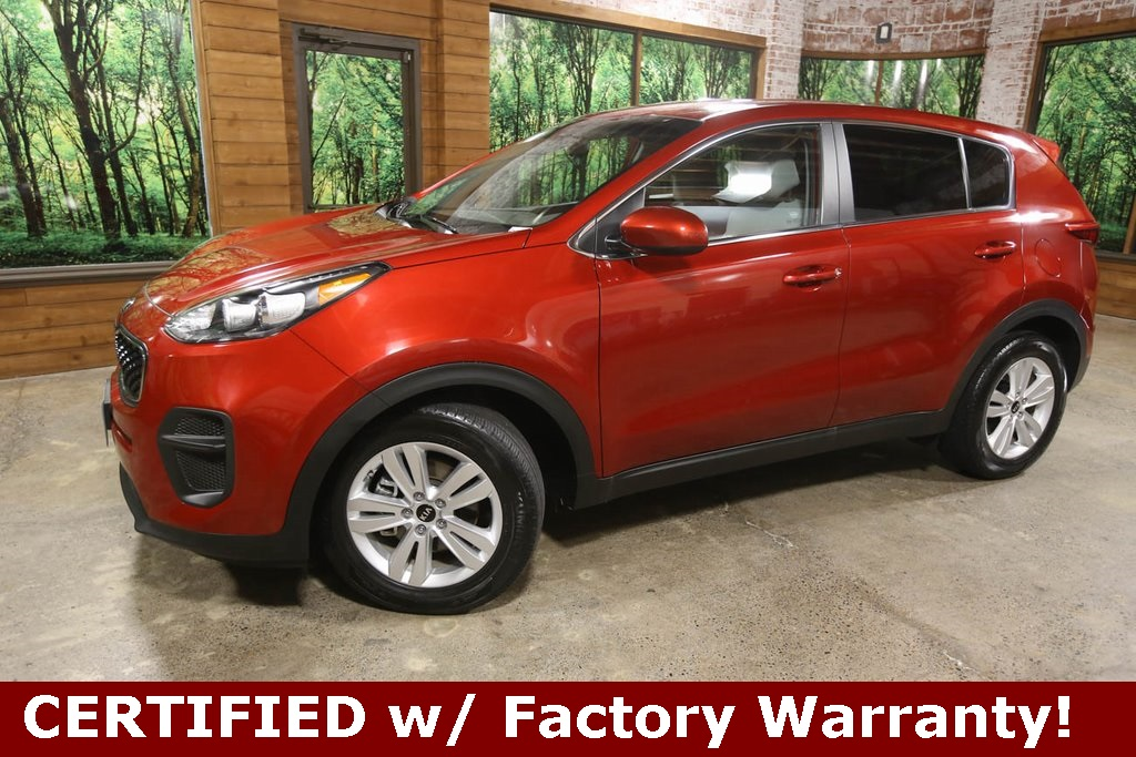 Certified Pre-Owned 2017 Kia Sportage LX 1-Owner, CERTIFIED