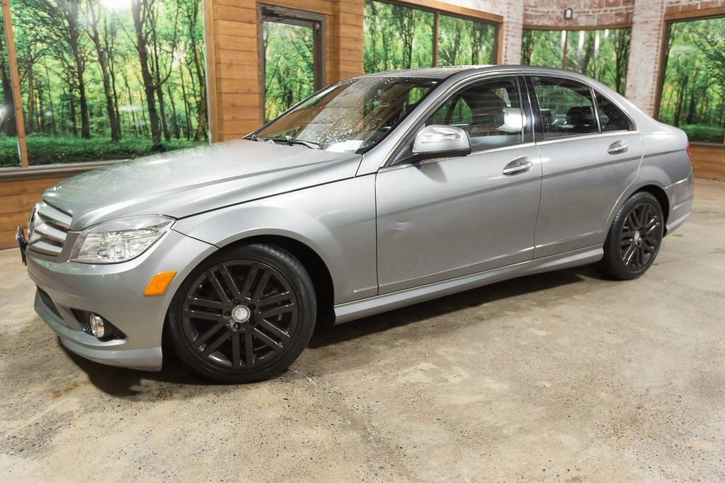 Pre-Owned 2009 Mercedes-Benz C-Class C 300 Sport with Premium Pkg, Navigation, Sunroof