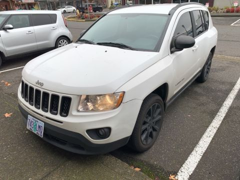 Pre-Owned 2012 Jeep Compass Latitude Altitude Pkg with Heated Seats