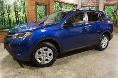 Pre-Owned 2015 Toyota RAV4 LE AWD, Local Trade, Clean Carfax