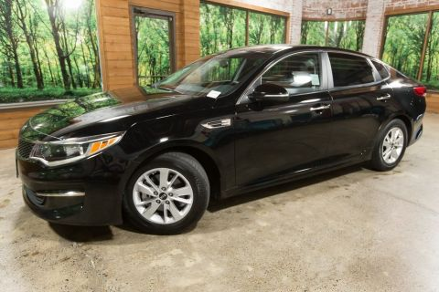 Certified Pre-Owned 2016 Kia Optima LX with Convenience Package, Clean Carfax, 35 MPG