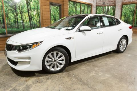 Certified Pre-Owned 2016 Kia Optima EX Premium Package, 1-Owner, Certified, Sunroof