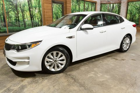 Certified Pre-Owned 2016 Kia Optima EX 1-Owner, Certified, Leather Heated Seats
