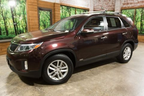 Pre-Owned 2015 Kia Sorento LX AWD with Convenience Package & 3rd Row Seat