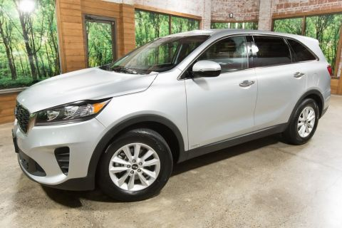 Certified Pre-Owned 2019 Kia Sorento LX AWD, 1-Owner, Certified, 3rd Row Seats