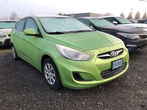 Pre-Owned 2012 Hyundai Accent GS Hatchback, 1-Owner, Automatic