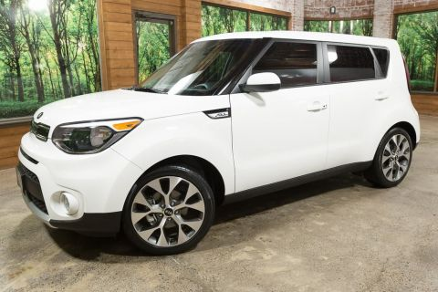 Certified Pre-Owned 2018 Kia Soul Plus CERTIFIED with Audio Package, Sunroof