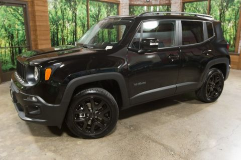 Pre-Owned 2017 Jeep Renegade Latitude 1-Owner Altitude w/ Cold Weather Package